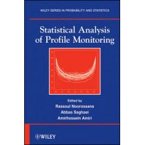 Statistical Analysis of Profile Monitoring by Rassoul Noorossana, 9780470903223