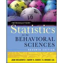 Introductory Statistics for the Behavioral Sciences by Joan Welkowitz, 9780470907764