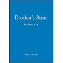 Drucker's Basic Facilitator's Set by Peter F. Drucker, 9780470931370