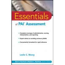 Essentials of PAI Assessment by Leslie C. Morey, 9780471084631