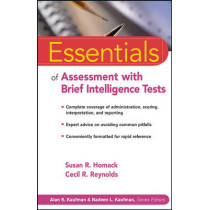 Essentials of Assessment with Brief Intelligence Tests by Susan R. Homack, 9780471264125