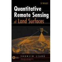 Quantitative Remote Sensing of Land Surfaces by Shunlin Liang, 9780471281665