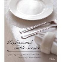 Professional Table Service by Sylvia Meyer, 9780471289265