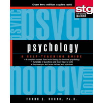 Psychology: A Self-Teaching Guide by Frank J. Bruno, 9780471443957