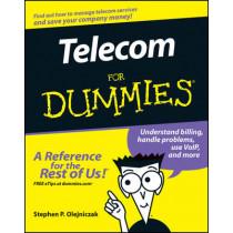 Telecom For Dummies by Stephen P. Olejniczak, 9780471770855