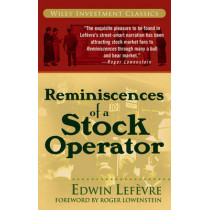 Reminiscences of a Stock Operator by Edwin Lefevre, 9780471770886
