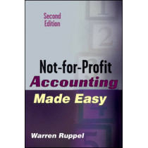 Not-for-Profit Accounting Made Easy by Warren Ruppel, 9780471789796