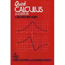 Quick Calculus: A Self-Teaching Guide by Daniel Kleppner, 9780471827221