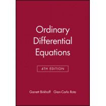 Ordinary Differential Equations by Garrett Birkhoff, 9780471860037