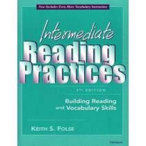 Intermediate Reading Practices: Building Reading and Vocabulary Skills by Keith S. Folse, 9780472030132