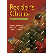 Reader's Choice: Units 1-6, 14 by Sandra Silberstein, 9780472032945