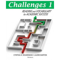 Challenges: Reading and Vocabulary for Academic Success: Book 1 by Cynthia A. Boardman, 9780472034413