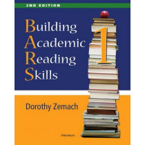 Building Academic Reading Skills, Book 1 by Dorothy Zemach, 9780472036844
