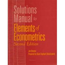 Solutions Manual to Elements of Econometrics by Jan Kmenta, 9780472084760