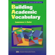 Building Academic Vocabulary by Lawrence J. Zwier, 9780472085897