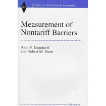 Measurement of Nontariff Barriers by Alan V. Deardorff, 9780472109319