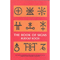 The Book of Signs by Rudolf Koch, 9780486201627