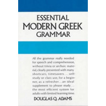 Essential Modern Greek Grammar by Douglas Q. Adams, 9780486251332