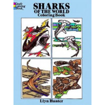 Sharks of the World Coloring Book by Llyn Hunter, 9780486261379