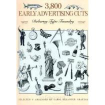 3800 Early Advertising Cuts by Carol Belanger Grafton, 9780486266589
