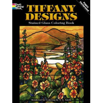 Tiffany Designs Stained Glass Coloring Book by Albert G. Smith, 9780486267920