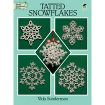 Tatted Snowflakes by Vida Sunderman, 9780486283036