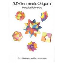 3-D Geometric Origami by Rona Gurkewitz, 9780486288635