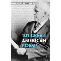 101 Great American Poems, 9780486401584