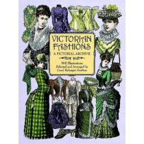 Victorian Fashions: A Pictorial Archive, 965 Illustrations by Carol Belanger Grafton, 9780486402215
