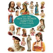 Old-time Men and Women Vignettes in Full Colour by Carol Belanger Grafton, 9780486412269