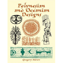 Polynesian and Oceanian Designs CD-Rom and Book by Gregory Mirow, 9780486412276