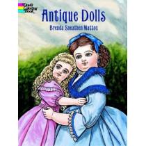 Antique Dolls Colouring Book by Brenda Sneathen Mattox, 9780486413181