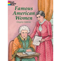 Famous American Women by Gregory Guiteras, 9780486415482