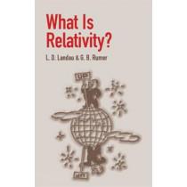 "What is Relativity? by L.D. ""Landau, 9780486428062"