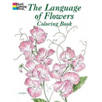 The Language of Flowers Coloring Book by John Green, 9780486430355