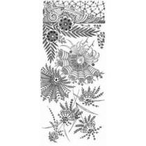 Treasury of Decorative Floral Designs by Dover, 9780486446233