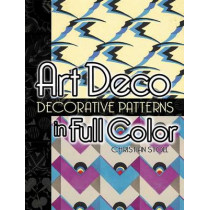 Art Deco Decorative Patterns in Full Color by Christian Stoll, 9780486448626