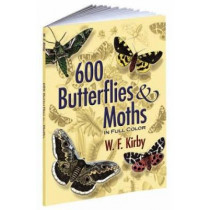 600 Butterflies and Moths in Full Color by W. F. Kirby, 9780486461397