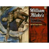 William Blake's Divine Comedy Illustrations by William Blake, 9780486464299