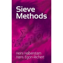 Sieve Methods by Heine Halberstam, 9780486479392