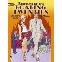 Fashions of the Roaring Twenties Coloring Book by Tom Tierney, 9780486499505