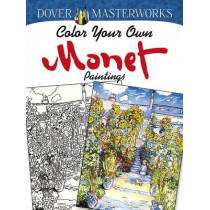 Dover Masterworks: Color Your Own Monet Paintings by Marty Noble, 9780486779454