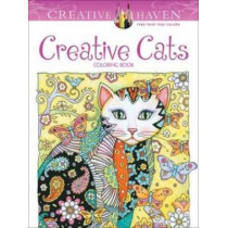 Creative Haven Creative Cats Coloring Book by Marjorie Sarnat, 9780486789644