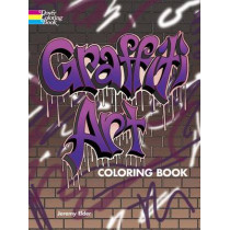 Graffiti Art Coloring Book by Jeremy Elder, 9780486804576