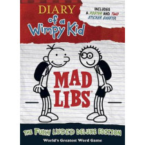 Diary of a Wimpy Kid Mad Libs: The Fully Lded Deluxe Edition by Mad Libs, 9780515158304