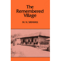 The Remembered Village by M. N. Srinivas, 9780520039483