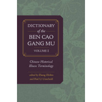 Dictionary of the Ben cao gang mu, Volume 1: Chinese Historical Illness Terminology by Zhibin Zhang, 9780520283954