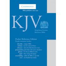 KJV Pocket Reference Edition KJ242:XR Purple Imitation Leather, 9780521146036