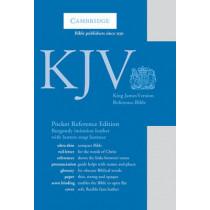 KJV Pocket Reference Bible, Burgundy Imitation Leather with Flap Fastener, Red-letter Text, KJ242:XR Burgundy Imitation Leather, with Flap Fastener, 9780521146050