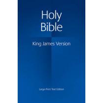 KJV Large Print Text Bible KJ650:T, 9780521163347